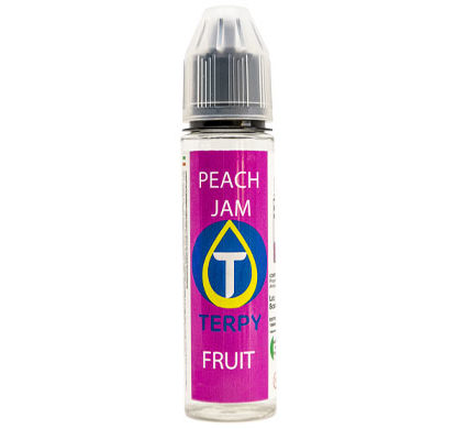 Flacon de 30ml liquides cigarette electronique fruite Peach Jam