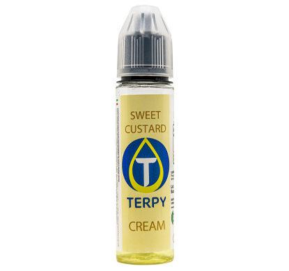 Flacon de 30ml liquides cigarette electronique gourmand Sweet Custard