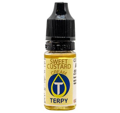 Flacon de 10ml arome cigarette electronique gourmand Sweet Custard