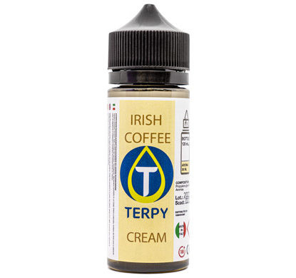 Flacon de 120ml liquides cigarette electronique gourmand Irish Coffee