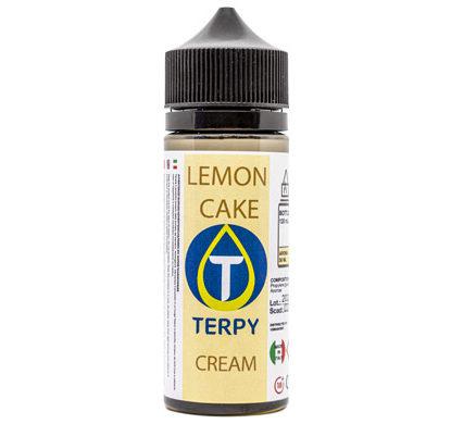 Flacon de 120ml liquides cigarette electronique gourmand Lemon Cake