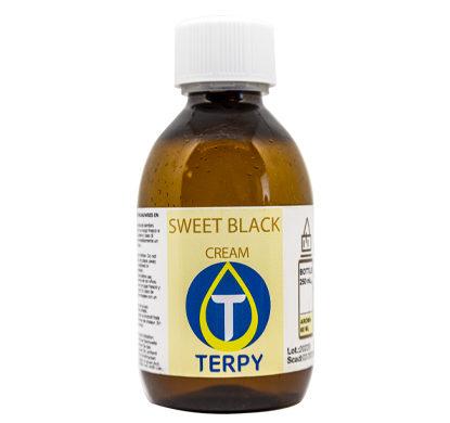 Bouteille de 250ml liquides cigarette electronique gourmand Sweet Black