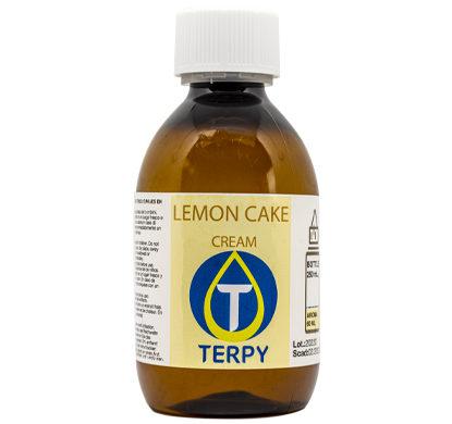 Bouteille de 250ml liquides cigarette electronique gourmand Lemon Cake