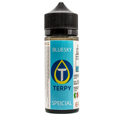 Flacon de 120ml liquides cigarette electronique premium Bluesky