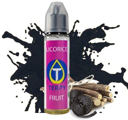 licorice e-liquide sans nicotine pour vaper de cigarette electronique