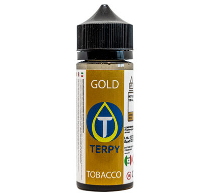 Flacon de 120ml liquides cigarette electronique tabac Gold