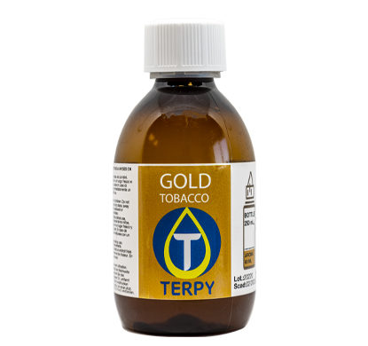 Bouteille de 250ml liquides cigarette electronique tabac Gold