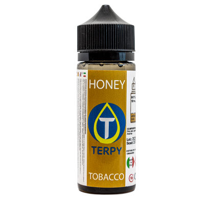 Flacon de 120ml liquides cigarette electronique tabac Honey