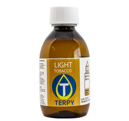Bouteille de 250ml liquides cigarette electronique tabac Light