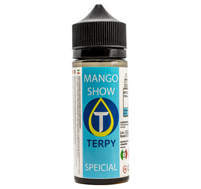 Flacon de 120ml liquides cigarette electronique premium Mango Show