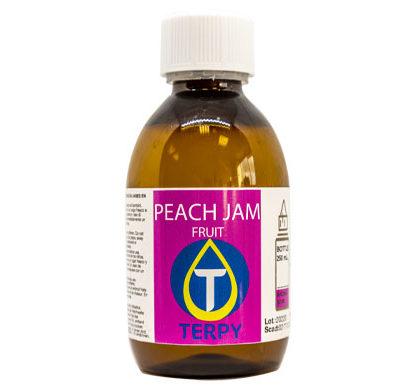 Bouteille de 250ml liquides cigarette electronique fruite Peach Jam