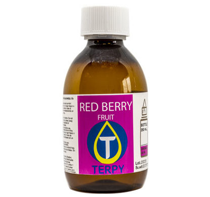 Bouteille de 250ml liquides cigarette electronique fruite Red Berry