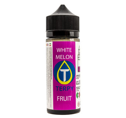 Flacon de 120ml liquides cigarette electronique fruite White Melon