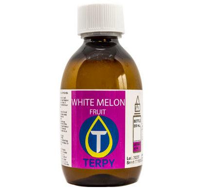 Bouteille de 250ml liquides cigarette electronique fruite White Melon