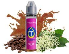 bouteille de sambucoffee e-liquide fruité goût cafffè et anice de 30ml