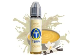 flacon de sweet custard e-liquide goût gourmand pour cigarette electronique