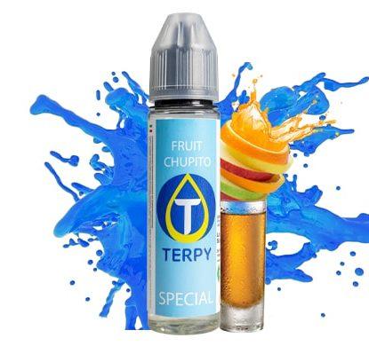 flacon de e-liquide premium pour cigarette electronique au goût fruit chupito
