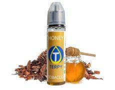Flacon de e-liquide honey tabac au goût de chéri pour cigarette electronique