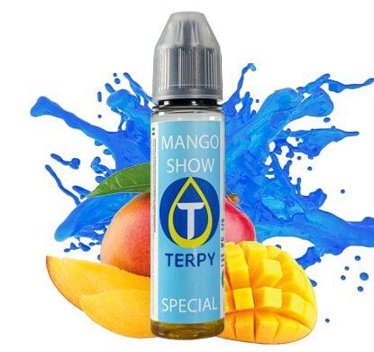 bouteille de Mango Show liquide pour cigarette électronique