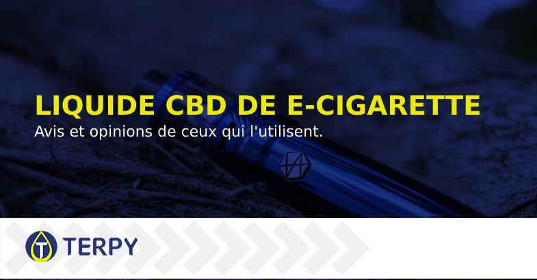Liquide CBD de cigarette électronique