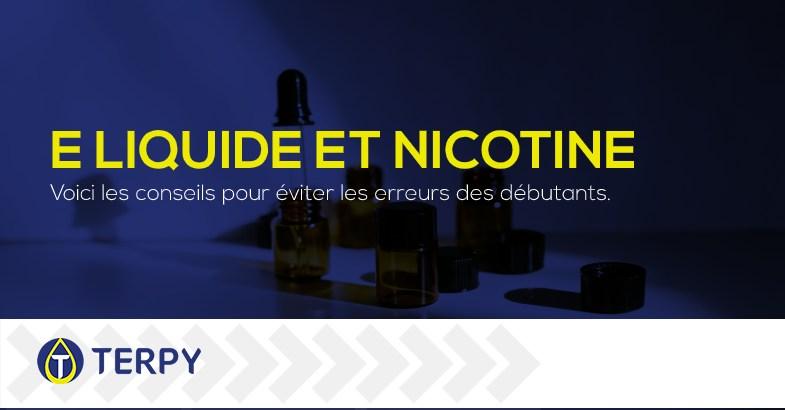 Comment mélanger le liquide et la nicotine