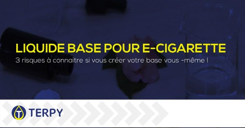 Liquide base pour e-cigarette