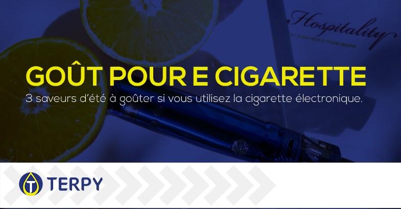goût pour votre cigarette électronique