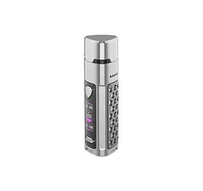 E-cigarette silver & noir de Wismec R40