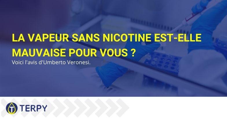 La vapeur sans nicotine est-elle mauvaise pour vous ?