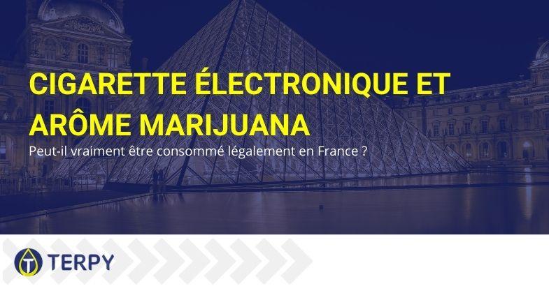 Cigarette électronique et arôme marijuana : peut-il vraiment être consommé légalement en France ?