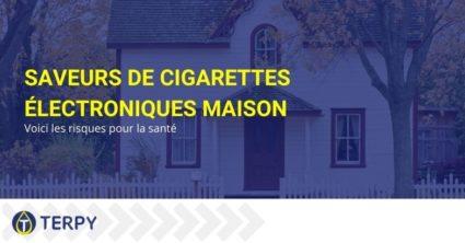 Les risques pour la santé avec les arômes de cigarette électronique maison