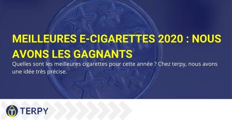 Meilleures e-cigarettes 2020 selon Terpy