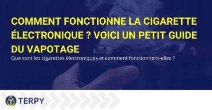 Guide sur le fonctionnement de la cigarette électronique