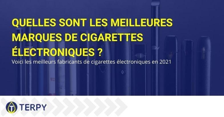 Les meilleures marques de cigarettes électroniques