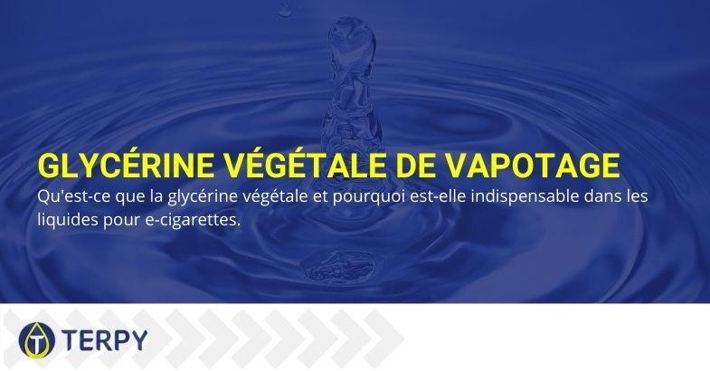 Qu'est-ce que la vape glycérine végétale et pourquoi est-elle indispensable dans les e-liquides ?