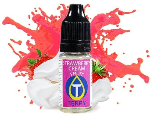 Arômes de vape fruités sur Terpy.