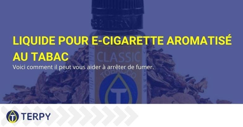 Voici comment un e-liquide aromatisé au tabac vous aide à arrêter de fumer